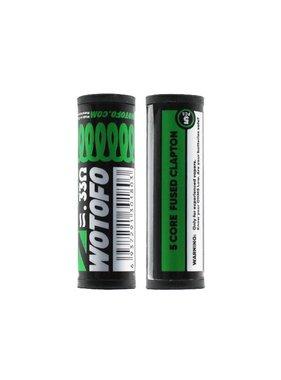 Wotofo Wotofo 5 Core Fused Clapton 5x30+40 Ni80 3.0mm 0.33ohm (5pcs)