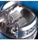Wotofo Wotofo Dual Core Fused Clapton 2 x30+38 Ni80 3.0mm 0.9 ohm (10pcs)