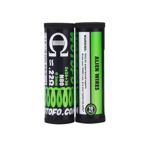 Wotofo Wotofo Alien 3x 26+36 N80 0.3mm 0.22Ω (10pcs)
