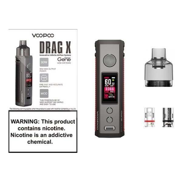 Voopoo Voopoo Drag X (New Colours)