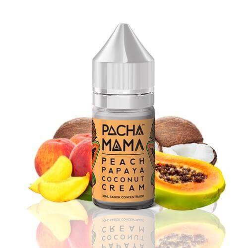 Pacha Mama Pacha Mama, Peach Papaya and Coconut 30ml Flavour Shot