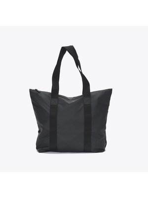 Rains Rains Tote Bag Rush Black