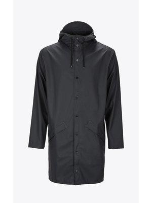 Rains Long Jacket Black Regenjas