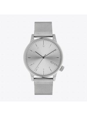 Komono Winston Royale Silver Watch