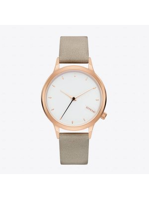 Komono Lexi Cool Grey Horloge