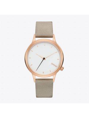 Komono Lexi Cool Grey Watch