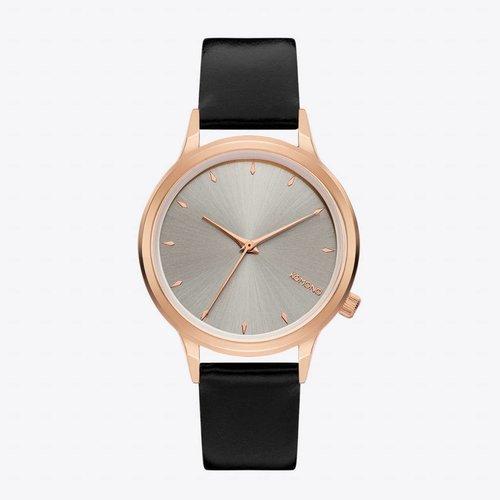 Komono Lexi Black Rose Horloge
