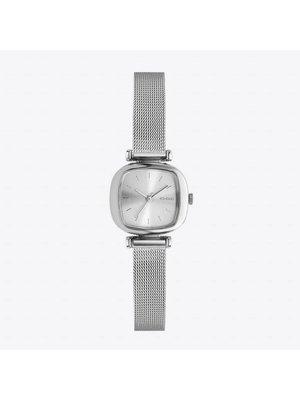 Komono Moneypenny Royale Silver Watch