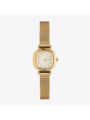 Komono Moneypenny Royale Gold White Watch