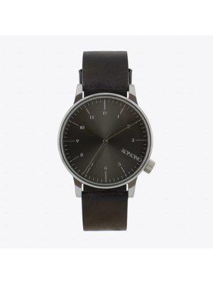 Komono Winston Regal Black Horloge