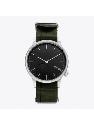 Komono Winston Subs Nato Green Horloge