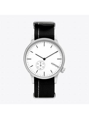 Komono Winston Subs Nato Black Horloge