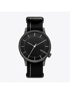 Komono Winston Regal Nato Black Horloge