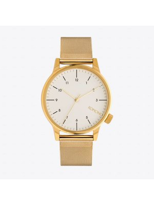 Komono Winston Royale Gold White Watch