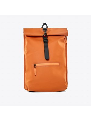 Rains Roll-top Rucksack Orange