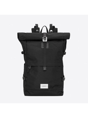 Sandqvist Bernt Black Backpack