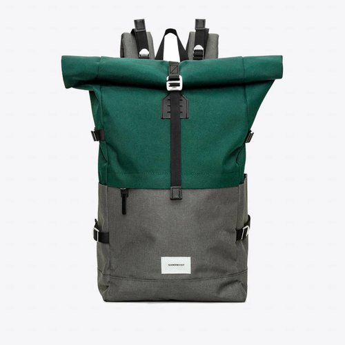Sandqvist Bernt Backpack Green/Grey