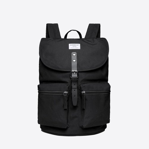 Sandqvist Roald Backpack Black