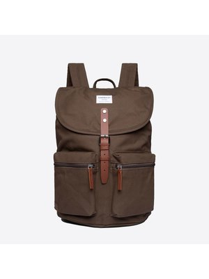 Sandqvist Roald Olive Backpack