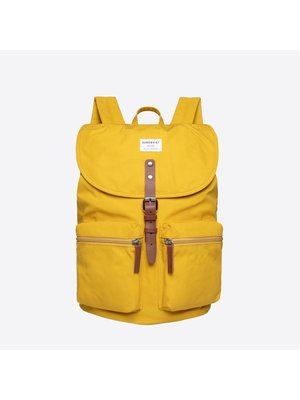 Sandqvist Roald Yellow Backpack