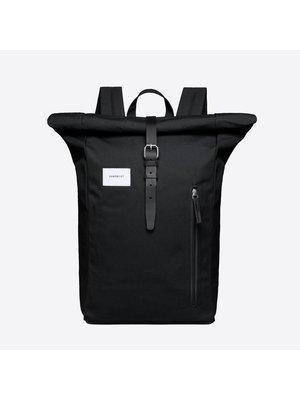 Sandqvist Dante Black Backpack