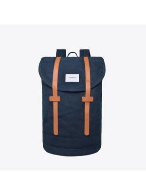 Sandqvist Stig Large Navy Backpack