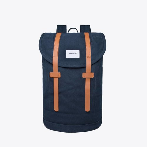 Sandqvist Stig Large Backpack Navy