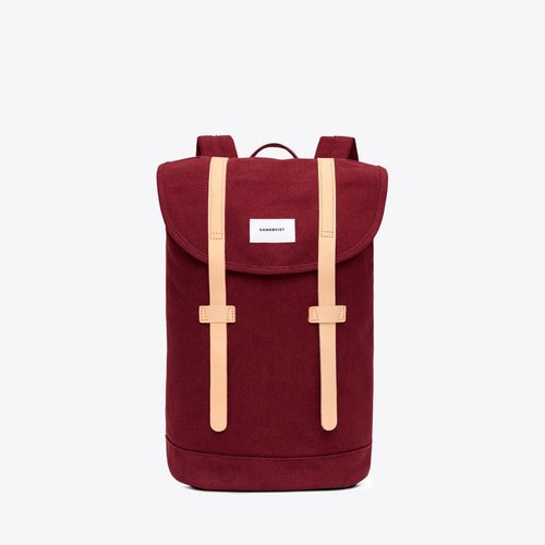 Sandqvist Stig Backpack Burgundy