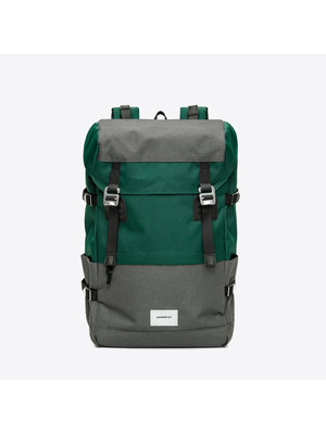 Sandqvist Harald Green Grey Backpack