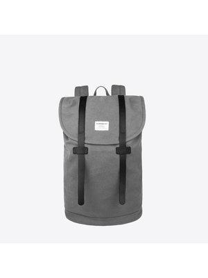 Sandqvist Stig Grey Backpack