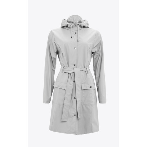 Rains Curve Jacket Stone
