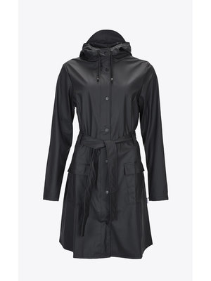 Rains Curve Jacket Noir