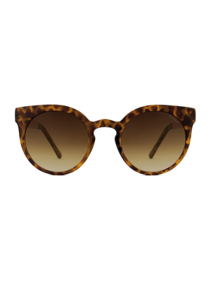 Komono Lulu Metal Tortoise Rose Gold Sunglasses