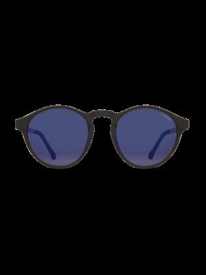 Komono Devon Metal Black Silver Sunglasses