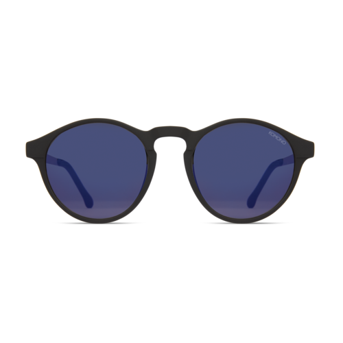 Komono Devon Metal Black Silver Sunglasses