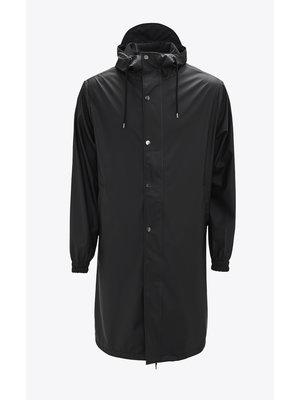 Rains Fishtail Parka Black Raincoat