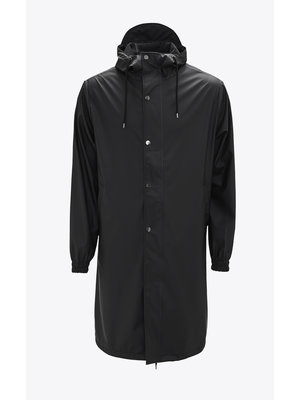 Rains Fishtail Parka Black