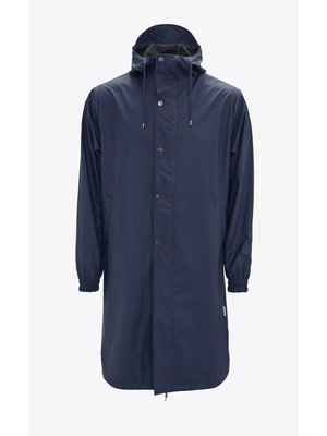 Rains Fishtail Parka Blue Raincoat