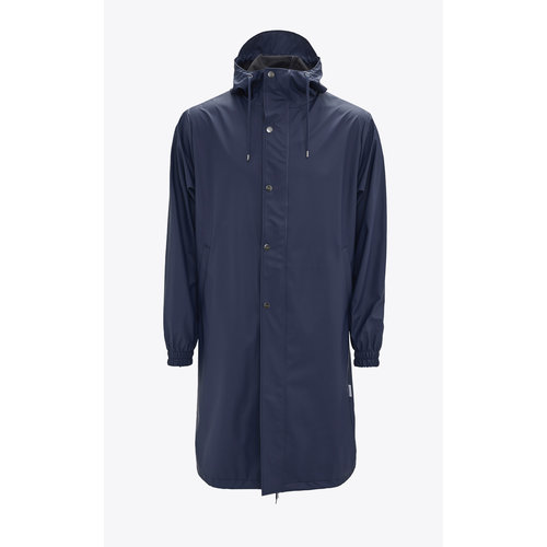 Rains Fishtail Parka Blue
