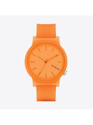 Komono Mono Neon Orange Glow Watch