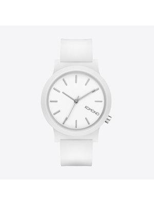 Komono Mono White Glow Horloge
