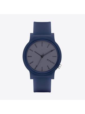 Komono Mono Navy Glow Horloge