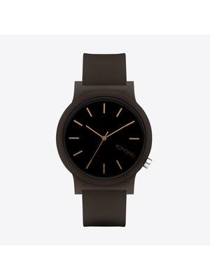 Komono Mono Black Glow Watch