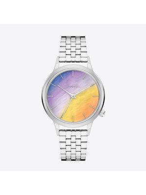 Komono Lexi Halo Silver Horloge