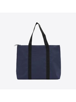 Rains City Tote Blue  Shoulder Bag