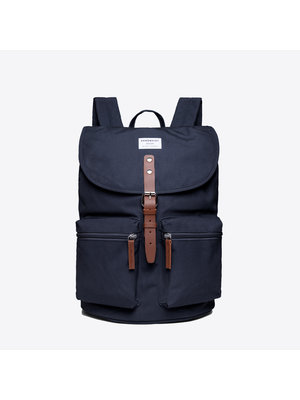 Sandqvist Roald Navy Backpack
