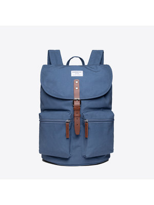 Sandqvist Roald Dusty Blue Backpack