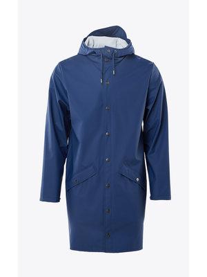Rains Long Jacket True Blue Impermeable