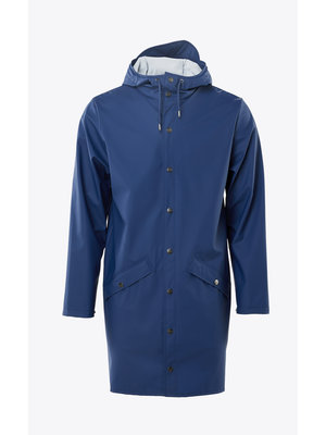 Rains Long Jacket True Blue