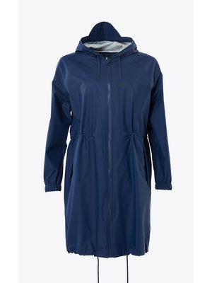 Rains Long W Jacket Klein Blue